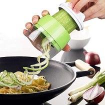 Hot Hand Held Spiral Vegetable And Fruit Slices Adjustable Spiral Planer Cutting Machine Salad Tool Adjustable Grater