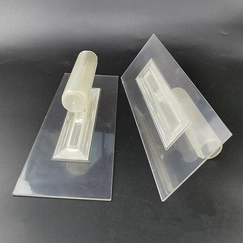 Plastic finisher plastering trowel DIY putty knife scraper for Tile Flooring grout remover Float Tiling Construction tool