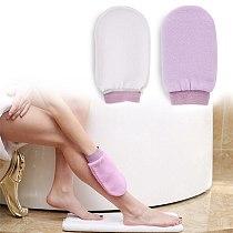 1Pc Shower Spa Exfoliator Two-sided Bath Glove 5colors Body Cleaning Scrub Mitt Rub Dead Skin Removal Bathroom Products