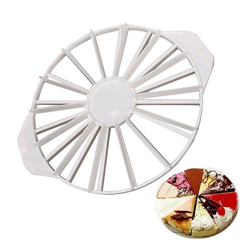32.5 X26.5 X2.8cmBirthday Party Accessories Kitchen Utensils Cake Cutter 14/16 Piece Cake Divider Equal Portion Model Cutter