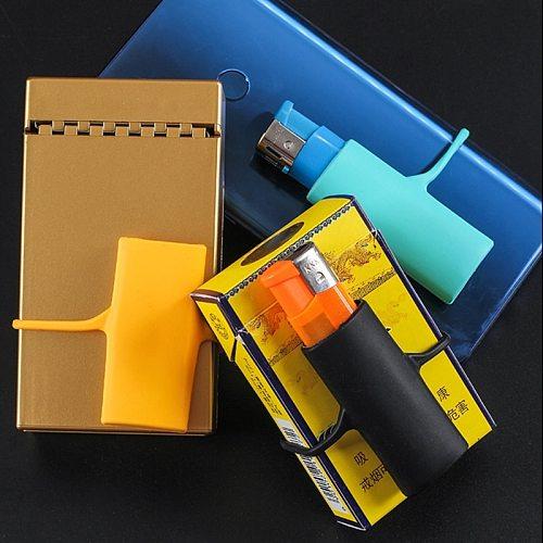 Silicone Lighter Case Protector Storage Surround Sleeve Cigarette Accessories