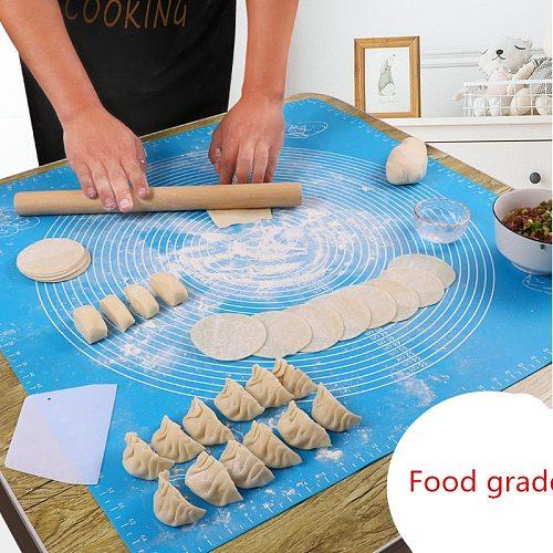 Silicone Baking Mats Sheet Pizza Dough Non-Stick Maker Holder Pastry Kitchen Utensils Gadgets baking accessories kitchen items