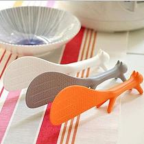 Utility Creative Kitchen Squirrel No Sticky Table Rice Spoon Paddle Scoop Ladle Economic Cooking Tools Kitchen Accessories