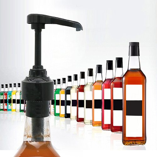 Pressure Pump Head With Straw Fit For Vinegar Olive Oil Oyster Sauce Bottle Liquid Dispensers Push-Type Nozzle Home Kitchen Tool