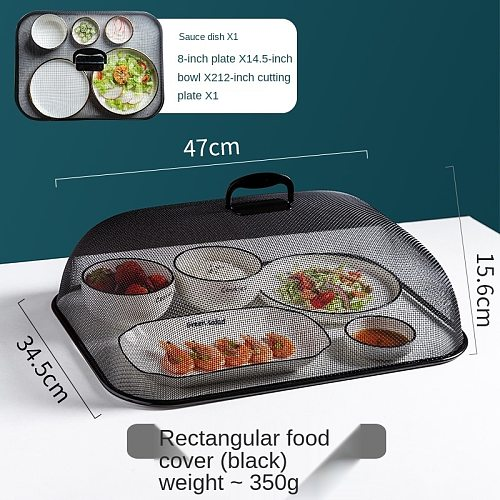 Cover Household Dust-Proof Fly Covering Leftovers Vegetable Cover Dining Table Dining Table New Fashion Food Cover