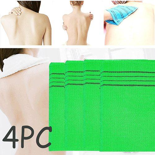 Bath Towel Coarse Grain Green Flat Mouth Single Piece Coarse Sand Cloth 4pc Korean Italy Exfoliating Body-scrub Glove