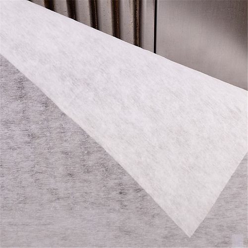 Range Hood Filter Paper Cover Universal White Vacuum Cleaner Protect Motor Filter Replacement Vacuum 114X47cm Antiflaming Sponge