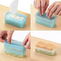 Rectangular DIY Sushi Mold Sushi Tools Onigiri Rice Ball Food Press Sushi Maker Mold Sushi Kit Japanese Kitchen Bento Accessory