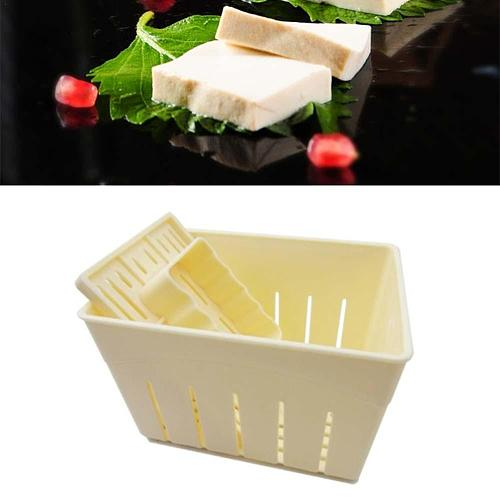 DIY Tofu Press Homemade Tofu Maker Tofu Machine Pressing Cloth Cheese Mould NPP5127 Molds Tool Molds Tofu Kitchen Kit Chees R6B4