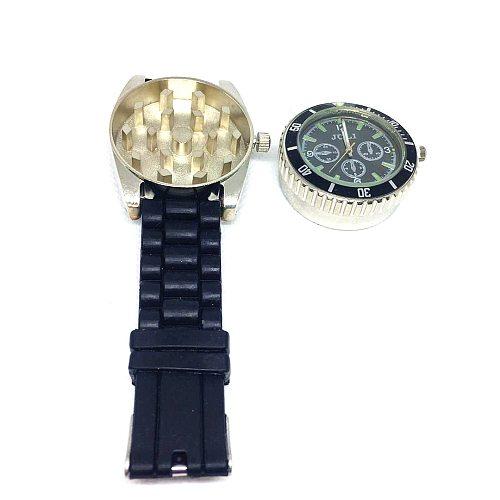 Wristwatch Grinder (watch Can Work)  Herb Grinder Tobacco Smoke  Crusher Smoking Accessories Hot Sale