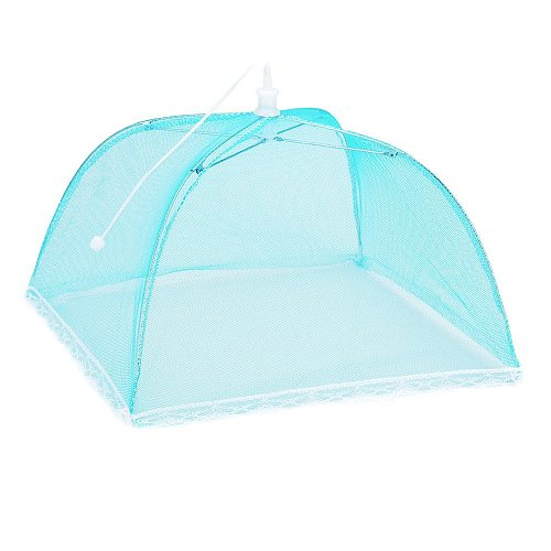 2PC Pop-Up Mesh Screen Protect Food Cover Tent Dome Net Umbrella Picnic Kitchen Folded Mesh Anti-Fly Mosquito Umbrel Hot Sale#50