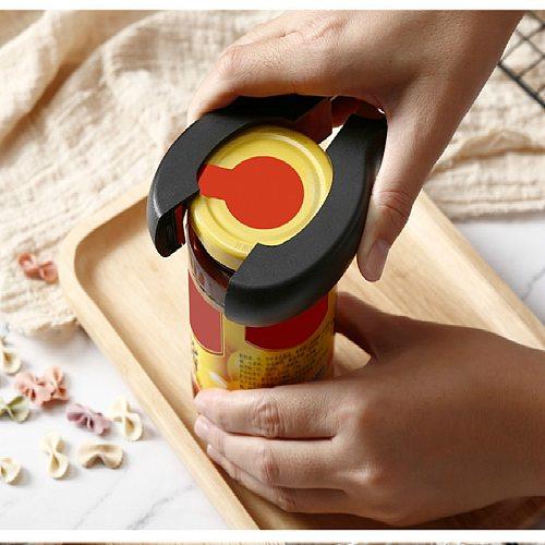 6 in 1 Multi Function Twist Bottle Opener, All in One Jar 8 shaped Gripper Can Wine Beer Lid Twist Off Jar Opener Claw
