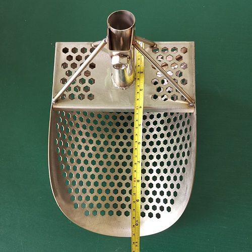metal detector Sand shovel shovel stainless sand scoop metal detector edge digger shovel spade sand scoop