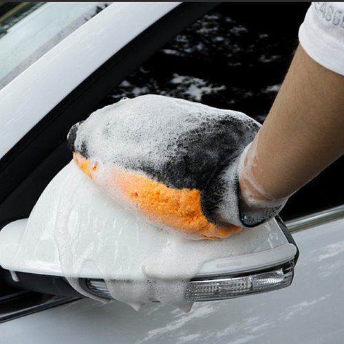 Car Styling Coral Fleece Car Cleaning Gloves Beauty Auto Wash Gloves Towels Cloth Home Car Cleaning Supplies Accessories