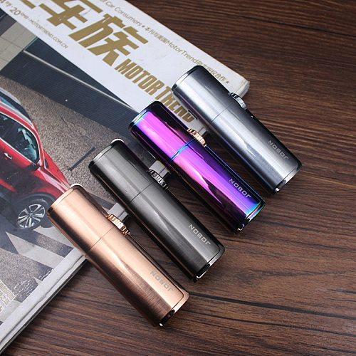 Jobon One Triple Torch Lighter Metal Windproof Gas Butane Jet Flint Lighter 3 Nozzles Turbo BBQ Cigar Spray Gun Gadgets For Men
