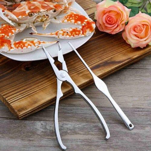 2pcs Seafood Set Scissors Crab Leg Eating Kitchen Shellfish Nuts Tools