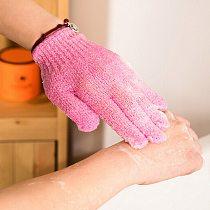 Bath For Peeling Exfoliating Mitt Glove For Shower Scrub Gloves Resistance Body Massage Sponge Wash Skin Moisturizing SPA Foam