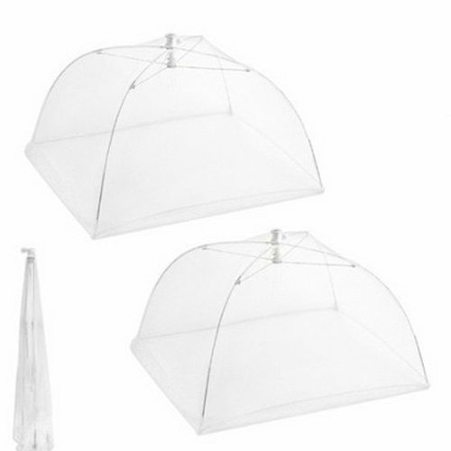 1PCS Washable Mesh Food Cover Foldable Household Food Umbrella Picnic Barbecue Party Anti Fly Mosquito Net Tent Kitchen Gadgets