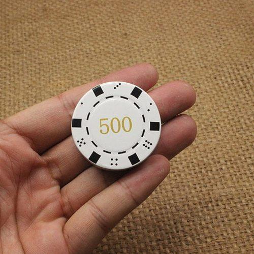 Fashion Creative Mini Coin Shaped Butane Flame Lighter Metal Chips Lighter Novelty Gadget Retro Men Gadgets Gift NO GAS