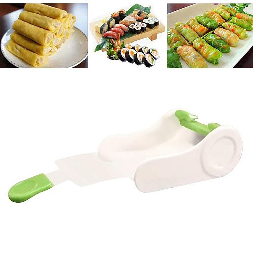Creative Vegetable Meat Rolling Tool Sushi Kitchen Bar Stuffed Grape Cabbage Leaf Gadget Roller Machine For Turkish Dolma