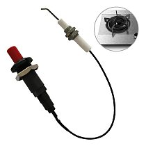 Push Button Lighters Piezo Spark For Gas Stoves Ovens Igniter Outdoor Ignition Device Kitchen Cooking Accessories With Cable