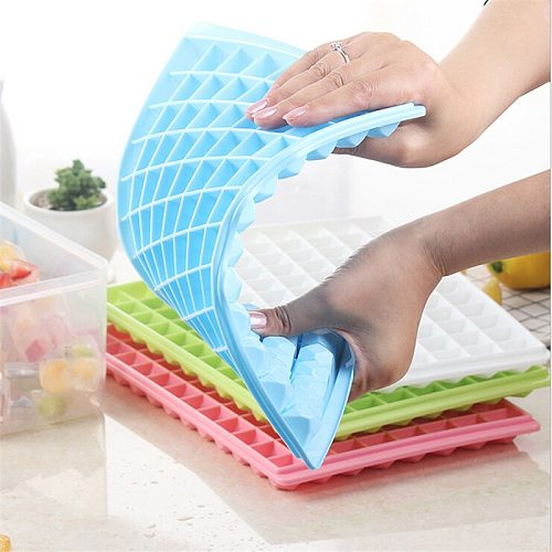 DIY Creative Ice Cube Maker Ice Maker Mould Silicone Ice Tray Ice Cube Maker Bar Kitchen Accessories Tools