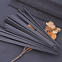 1pair household chopsticks non-slip bamboo chopsticks hotel restaurant chopsticks portable sushi chopsticks 24cm