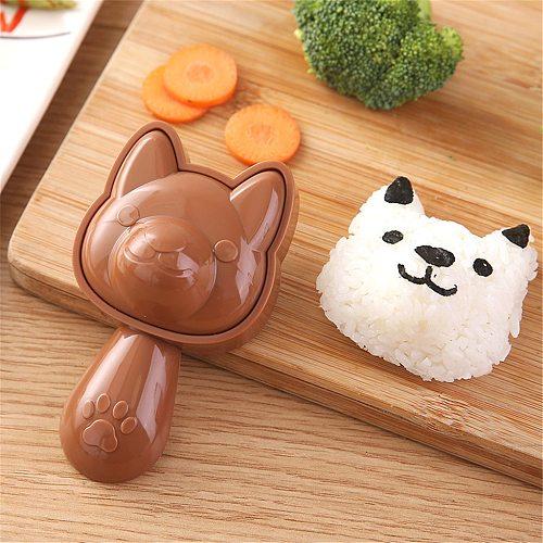Cute Cartoon Sushi Mold Nori Rice Decor Cutter Bento Maker Sandwich Diy Tool Kitchen Accessorie Sushi Molds Bento Accessories