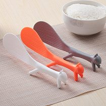 Cartoon Squirrel Spoon Non Stick Rice Paddle Ladle Lovely Meal Spoon Cooking Tools Kitchen Accessories