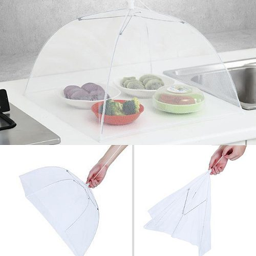 2021top home decor 1 Large Pop-Up Mesh Screen Protect Food Cover Tent Dome Net Umbrella Picnic товары для дома