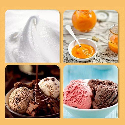 1/2 Hot Universal Heat Resistant Integrate Handle Silicone Spoon Scraper Spatula Ice Cream Cake Kitchen Tool Utensil Convenience