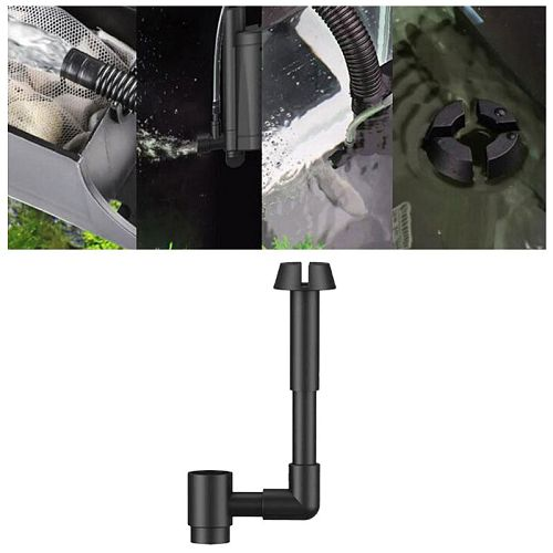 Fish Tanks Aquarium Surface Skimmer Oil Remover Three-in-one Water-pump Filter Part Water Cleaner Accessories