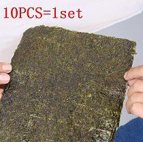 10pcs/bag Sushi nori seaweed , A+ Class Seaweed sushi moss sushi nori , Secondary whole roast Porphyra Pack Rice Material sushi