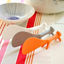 Portable Standing Squirrel Spoon Lap Sticky Tables Food Spoon Rice Scoop Tableware Party Supplies Kitchen Accessories