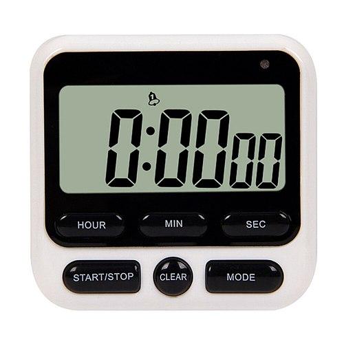 Multifunctional Cooking Countdown Timer Digital Sleep Stopwatch Alarm Reminder Clock Stand Alarm Sleep Stopwatch for Home