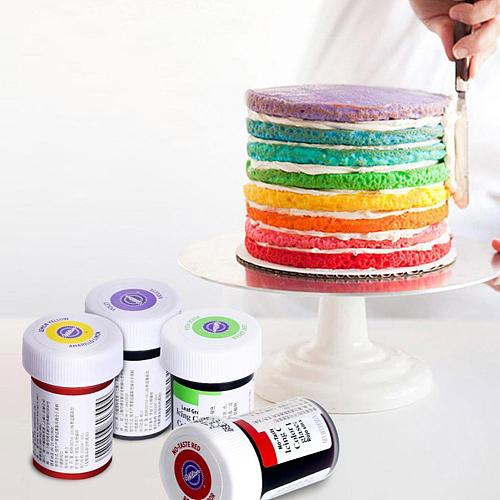 Natural Ink Dyeing Pigment Tools Food Coloring Fondant Macaron Ice Cream Cake Pastries Cookies DIY Craft Pigment Bakery Tools