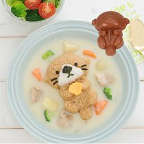 NICEYARD 5/1Pcs Marine Rice Ball Mold Shell Crab Seal Cute Cartoon Sushi Mould Vegetarian Food Bento Gadget Kitchen Accessories