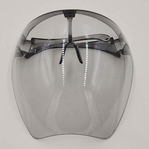 1PCS Clear Full Face Shield Unisex Oversize Shield Visor Colorful Face Mask Plastic Lightweight Anti Splash Anti-wind SunGlasses