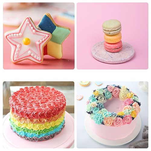 10ml Food Coloring Ice Cream Pastry Edible Pigment for Cupcake Cake Fondant Food Dyes Baking Pastry Tool Safe Dyeing Pigment