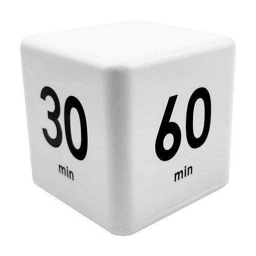 Management Clock Reminder Kitchen Timer Cube Time LED Desk Table Alarm Clock for Household Kitchen Convenient Part