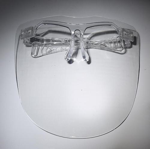 Transparent Plastic Safety Faces Shields Adult Screen Spare Visors For Head Eye Faces Kitchen Oil Splash Protective Scarfs Masks