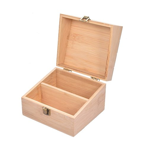 Kitchen Wooden Recipe Box Retro Practical 50Pcs Double-sided Recipe Cards Quick Access To Recipe Partitions For Beginners