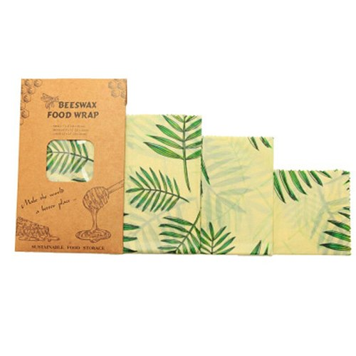 Zero Waste Reusable Beeswax Food Storage Wrap Food Fresh Keeping Sealed Beeswax Cloth Wrap Eco-Friendly Food Wrapping Paper
