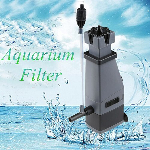 Aquarium Oil Pump Surface Skimmer Remove Oil Stain Film Water Pump for Fish Tank DFDS889