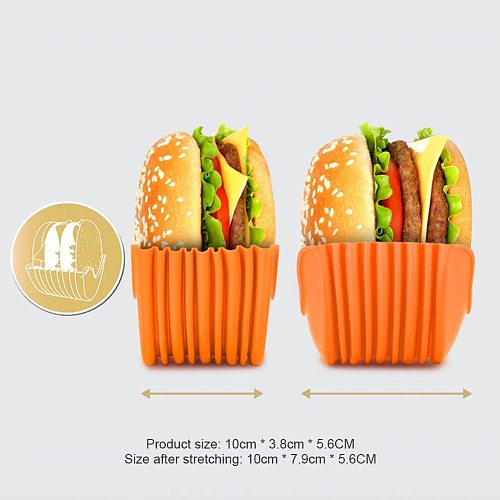 Burger Buddy Burger Fixed Box Hamburger Meat Beef Grill Burger Press Patty Utensils Kitchen Burger Maker Mold Silicone Kitchen