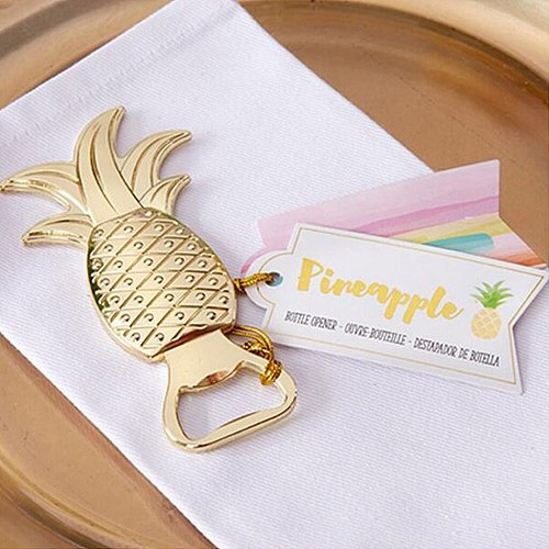 Pineapple Shape Bottle Opener Small Gifts Alloy Household Necessities Wedding