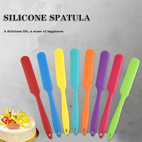 1pcs Silicone Baking and Pastry Spatula Cake Tools Chocolate Cream Mixing Knife Cake silicone Knife Spatula For Spreading