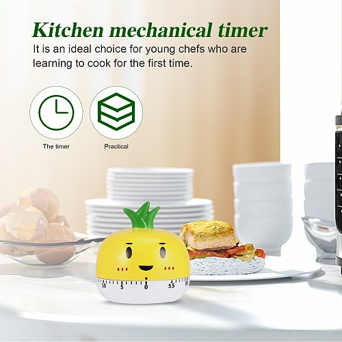 1 Pc Practical Mechanical Timer Exquisite Timer Household Kitchen Timer