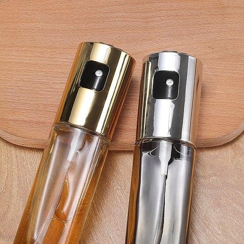 Oil Pot Leak-proof Sprayer Kitchen GOODS Supplies Glass Bottle Barbecue Cooking Seasoning Oil Pot Kitchen Supplies Tool