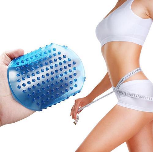 2020 Newest Soft Silicone Massage Scrub Gloves For Peeling Body Bath Brush Exfoliating Gloves Footbrush for the Bath Body Brush